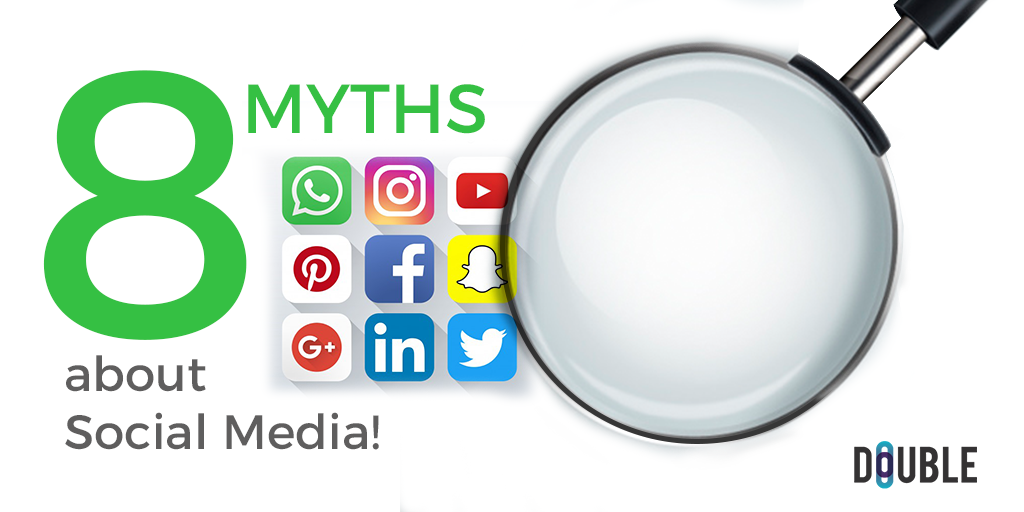 8 Myths about Social Media!